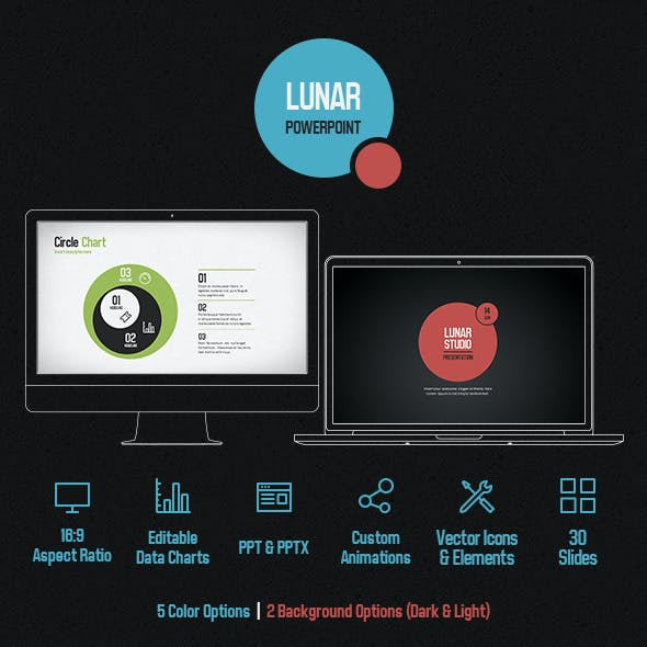 Lunar Powerpoint Presentation Template