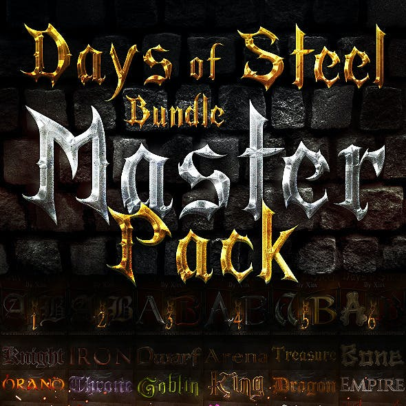 Days of Steel Bundle - Master Pack