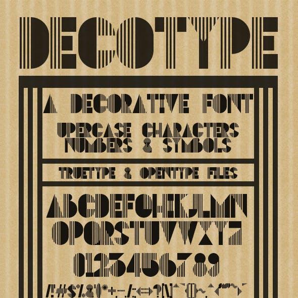 DECOtype