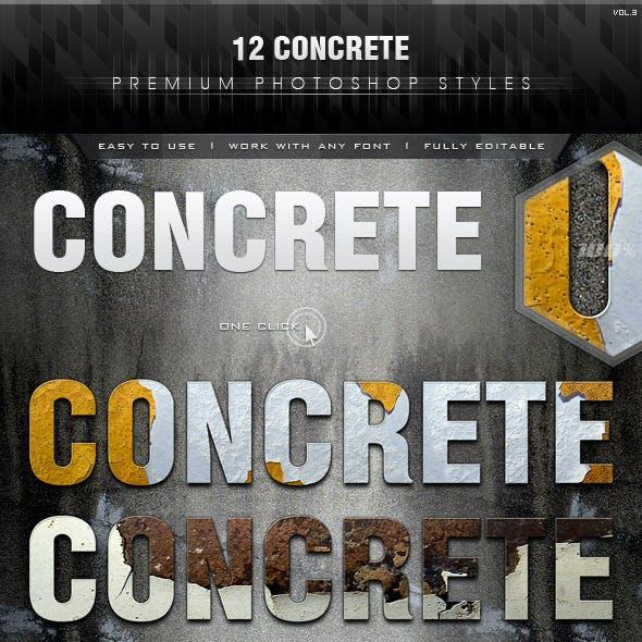 12 Concrete Styles Vol.3