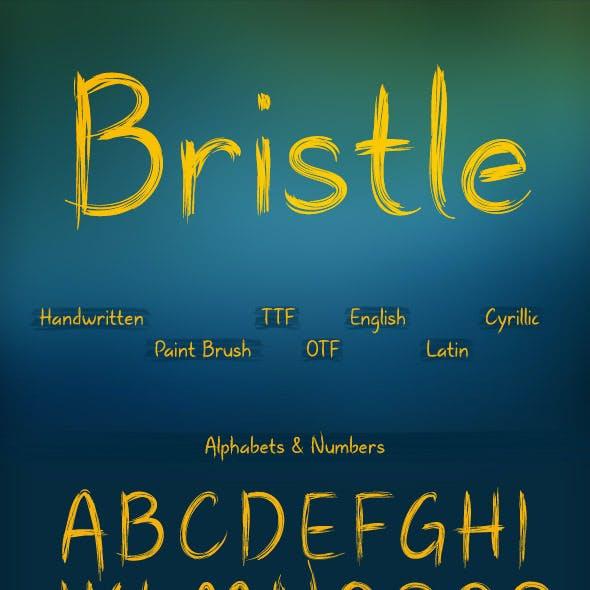 Bristle Font