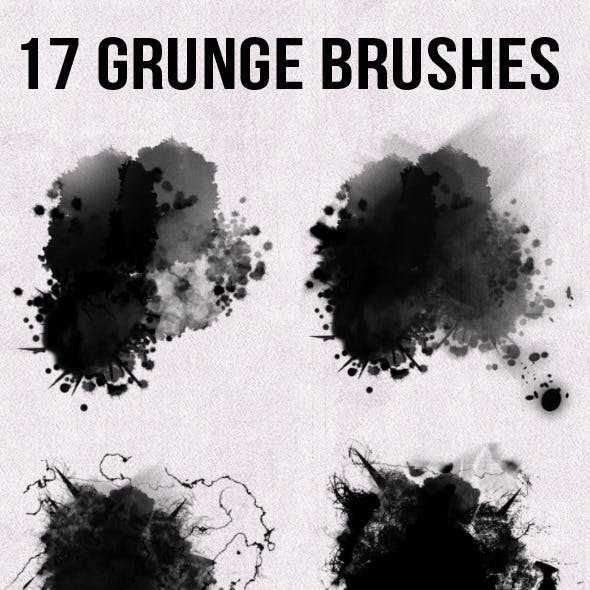 17 Grunge Brushes