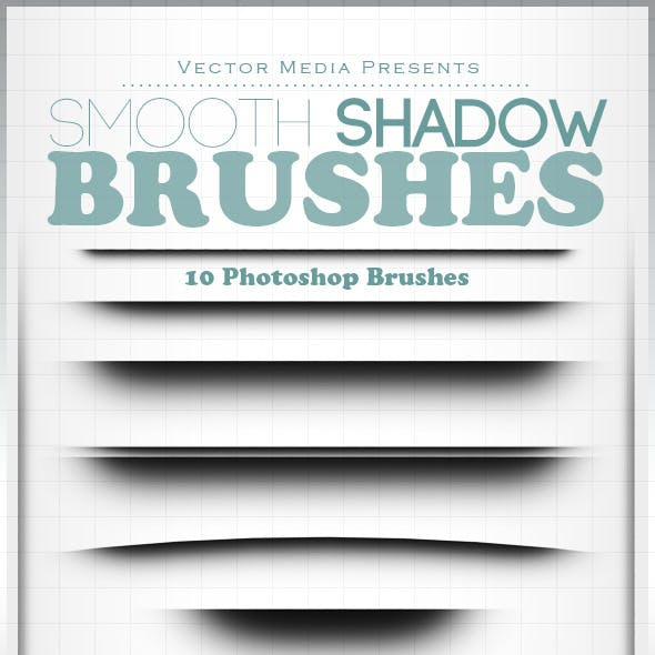 Smooth Shadow - Photoshop Brushes