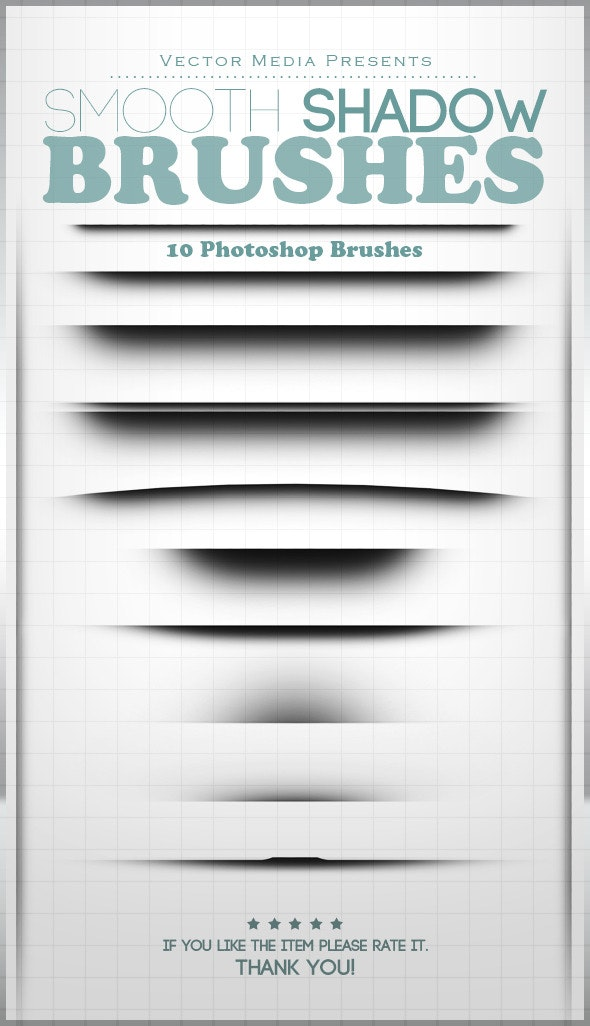 Smooth Shadow - Photoshop Brushes - Miscellaneous Brushes