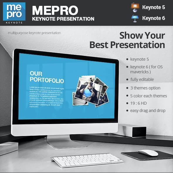 MEPRO - Keynote Presentation Template