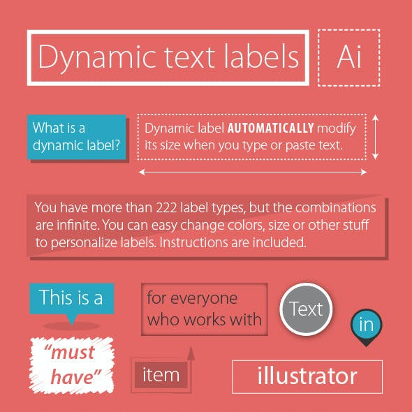 Dynamic Text Labels