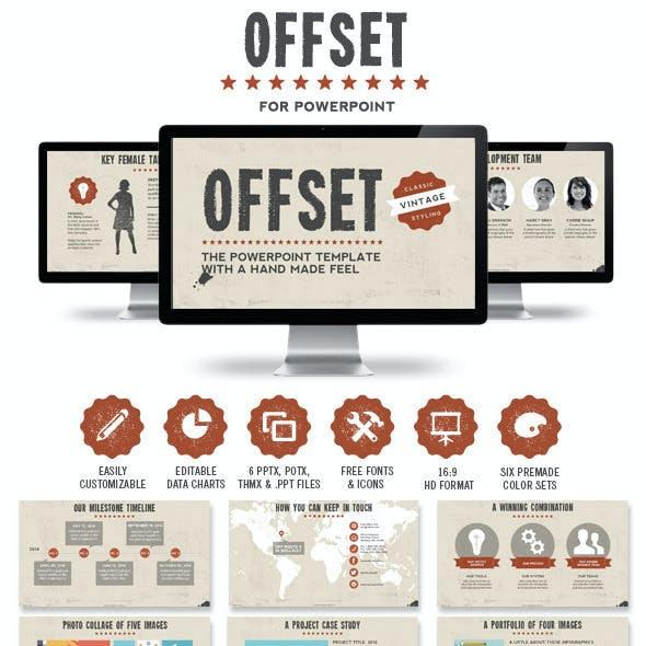 Offset Powerpoint Presentation Template
