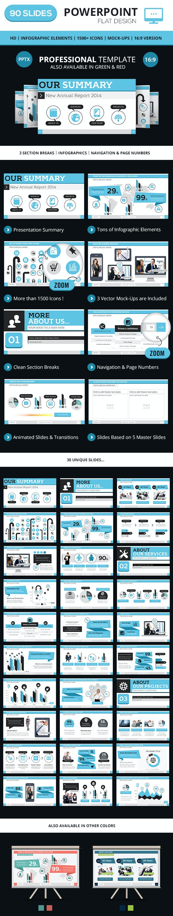 Professional PowerPoint Business Template - Business PowerPoint Templates