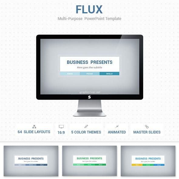 Flux PowerPoint Presentation Template