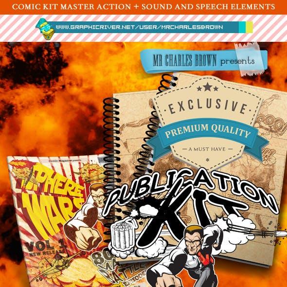 Comic Publication Kit 'Master Pure Art Drawing'