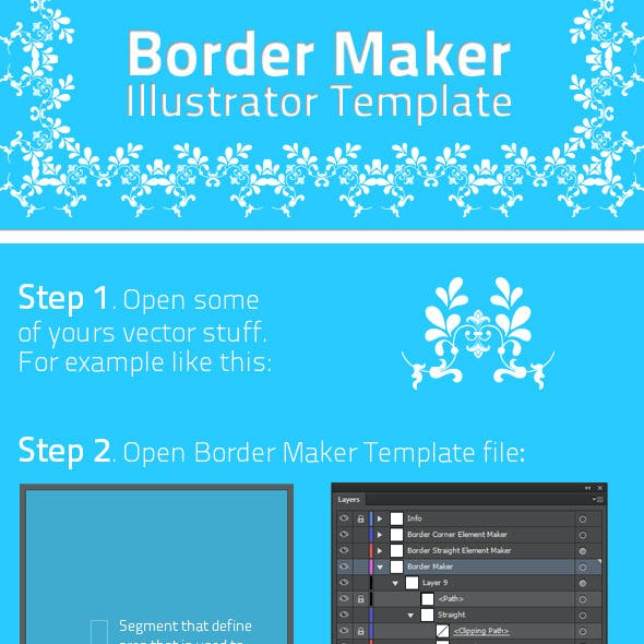 Border Maker Template