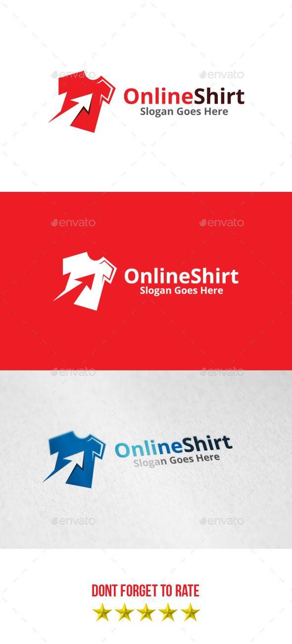 Online Shirt Logo - Objects Logo Templates