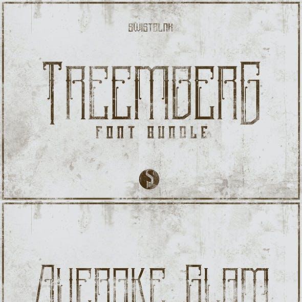 Treemberg Font Bundle