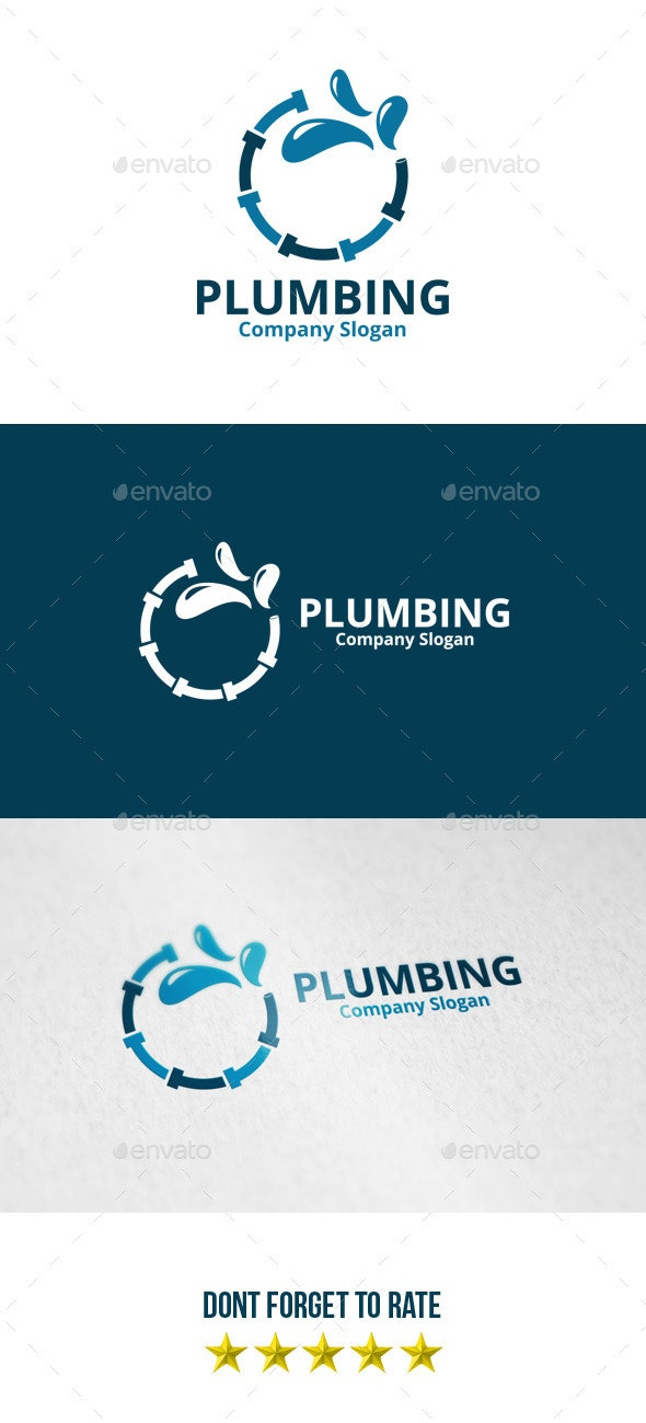 Plumbing Logo - Objects Logo Templates