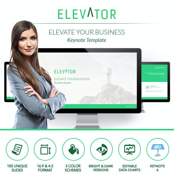Elevator Keynote - Elevate Your Business