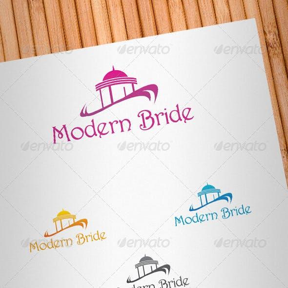 Modern Bride Logo Template