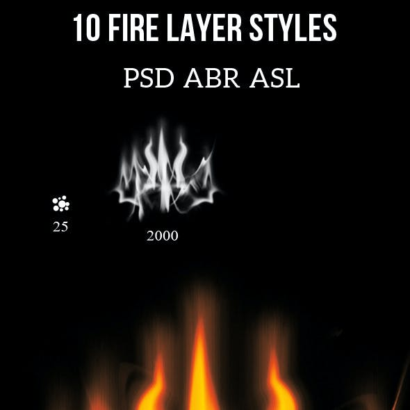 Fire Layer Styles