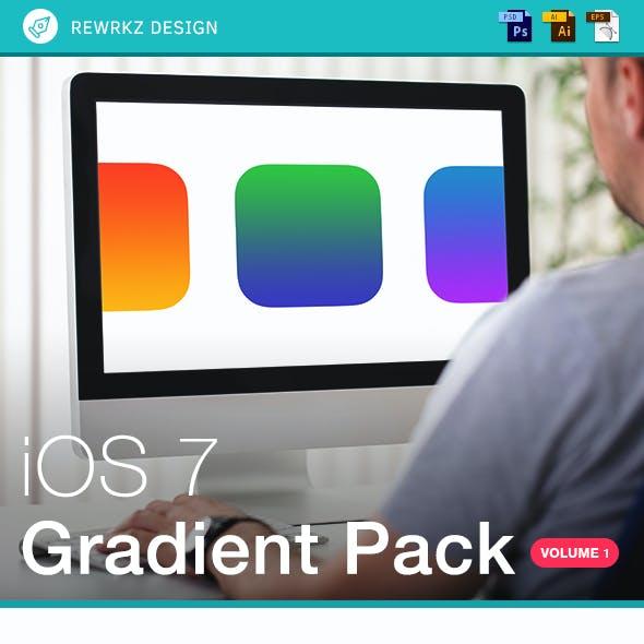 iOS 7 Gradient Pack - Volume 1