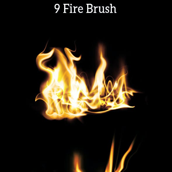 9 Fire Brush