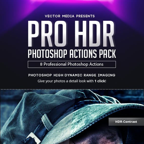 Pro HDR - Photoshop Actions