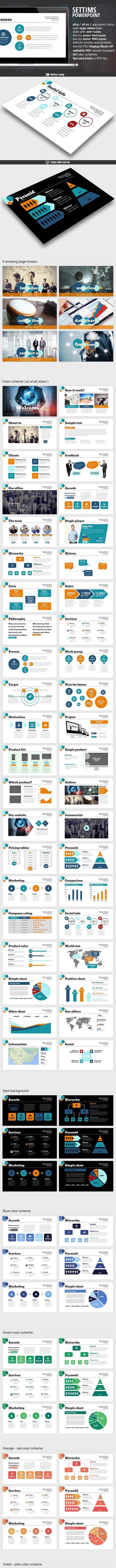 Settims Powerpoint Presentation - Finance PowerPoint Templates