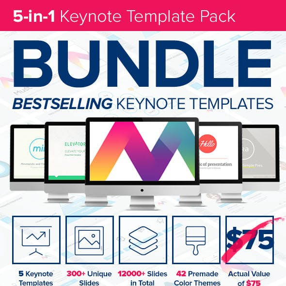 5-in-1 Keynote Presentation Bundle