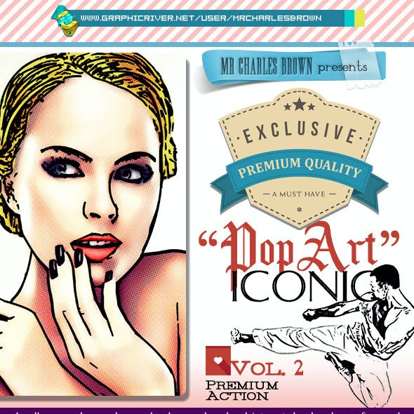 Advance Iconic Pop Art 2