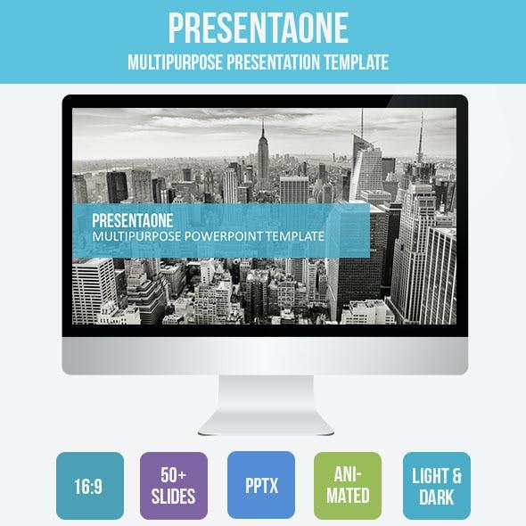 PresentaOne PowerPoint Template