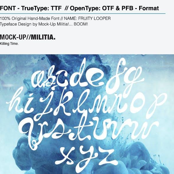 Handwritten Font | Hand Drawn Font | Messy Font