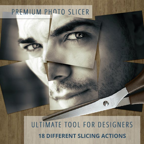 Photo Slicer - Image Actions