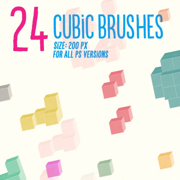 24 Cubic Brushes