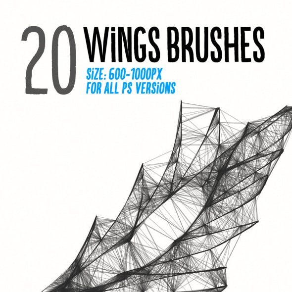 20 Wings Brushes