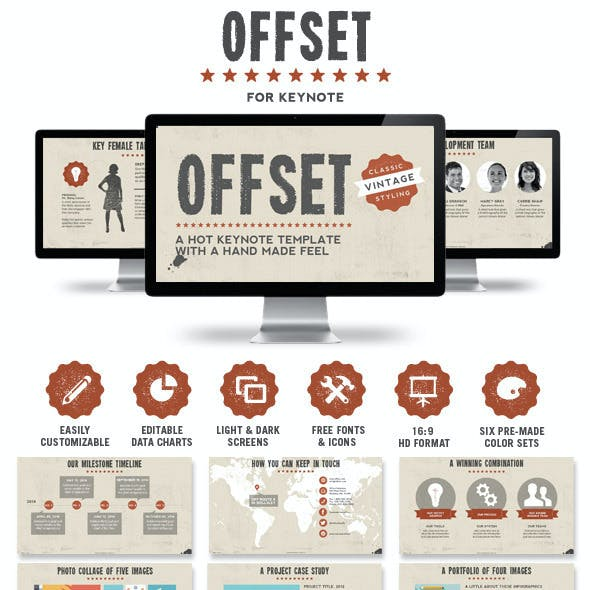 Offset Keynote Presentation Template