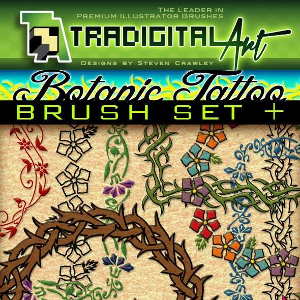Botanic Tattoo Brush Set +