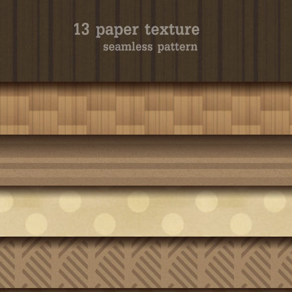 13 Paper Texture Seamless Pattern