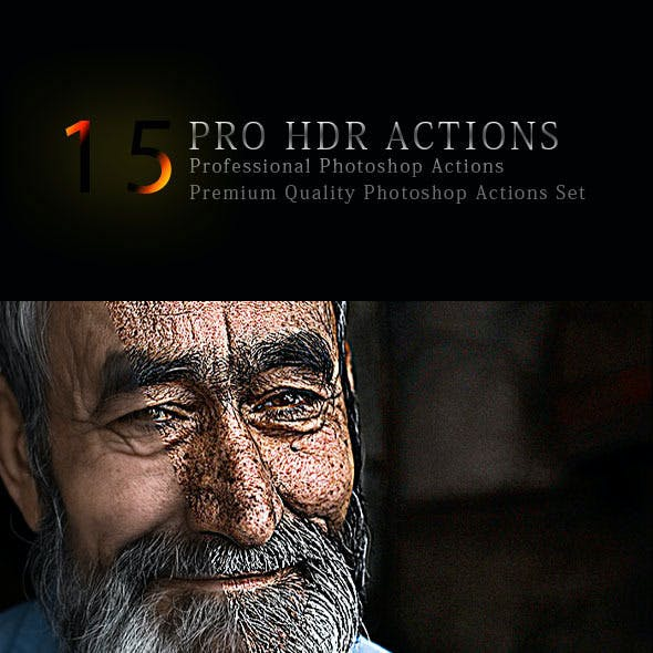 15 Pro HDR Actions