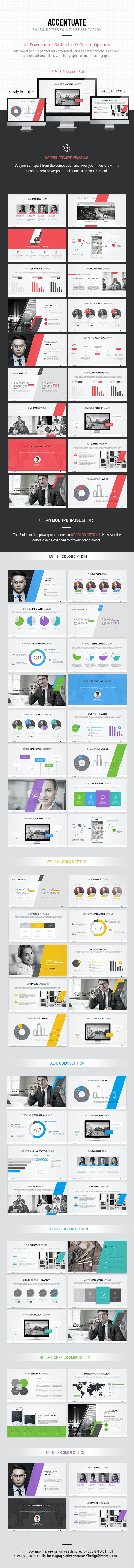 Sales Powerpoint Presentation - Pitch Deck PowerPoint Templates