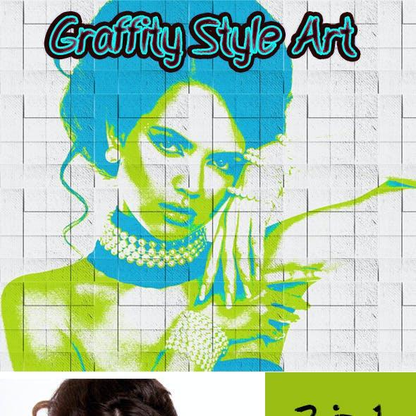 Graffity Style Art
