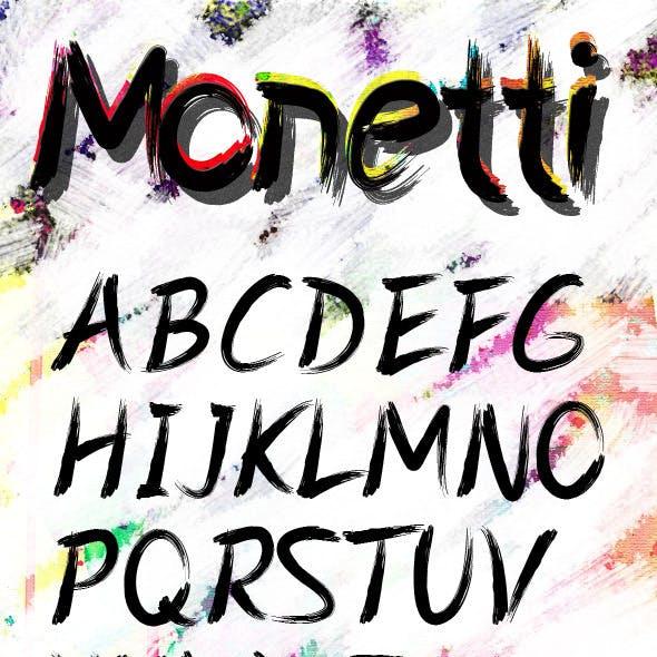 Monetti Font