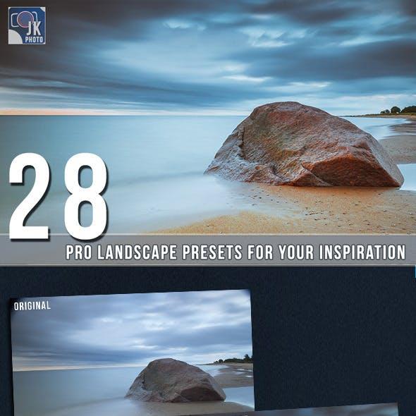 28 Pro Landscape Presets