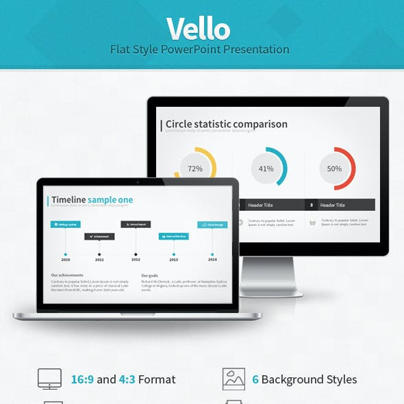 Vello Flat Style Presentation
