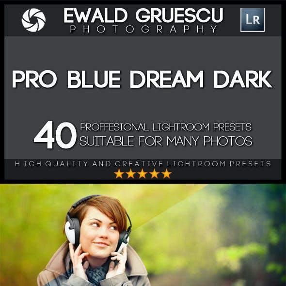40 Blue Dream Dark Lightroom Presets