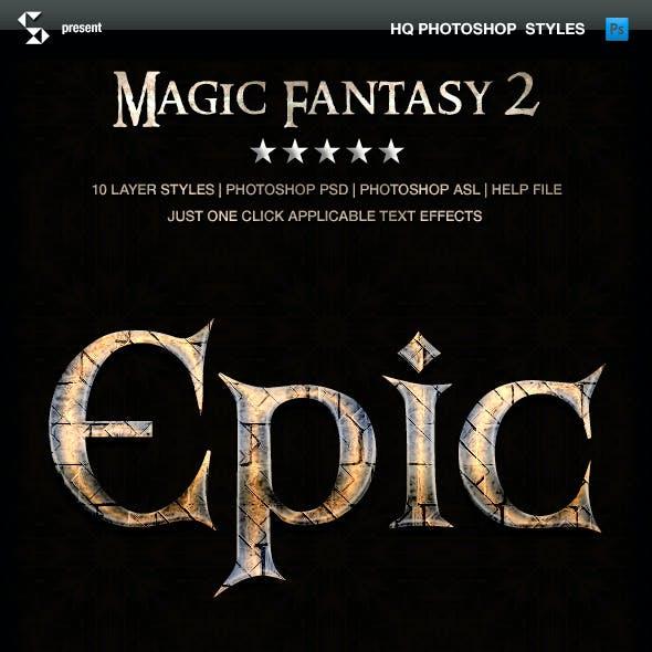 Fantasy Styles - Magic Fantasy 2
