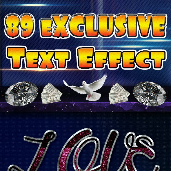 89 Exclusive Text Effect