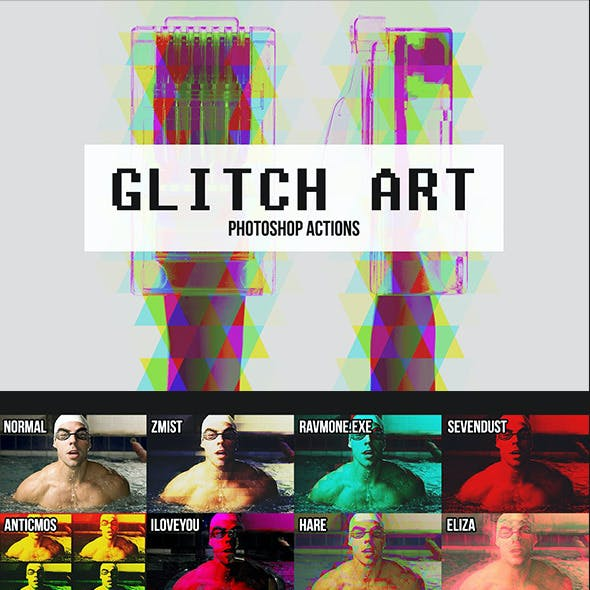 10 Glitch Art Effects