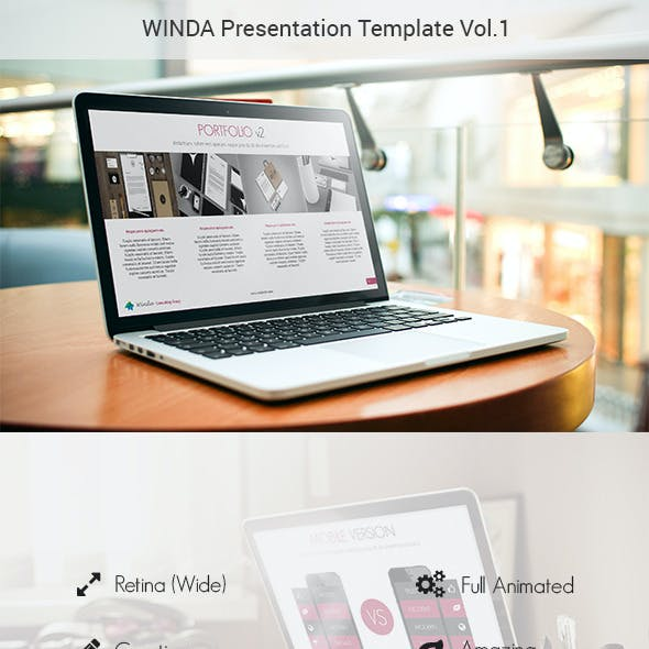 Winda Creative Powerpoint Template