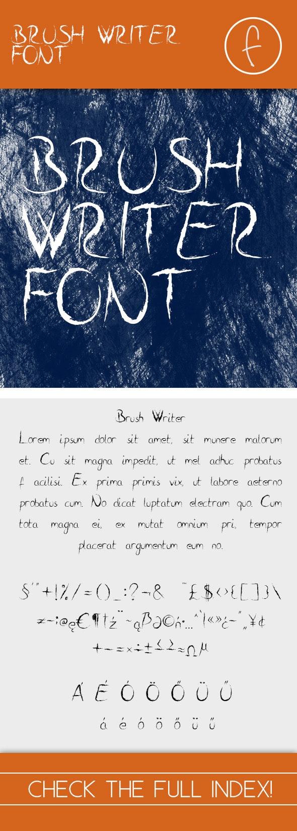 Brush Writer - Handwriting Fonts