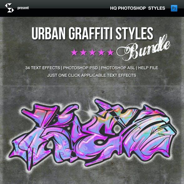 Urban Graffiti Styles - Bundle