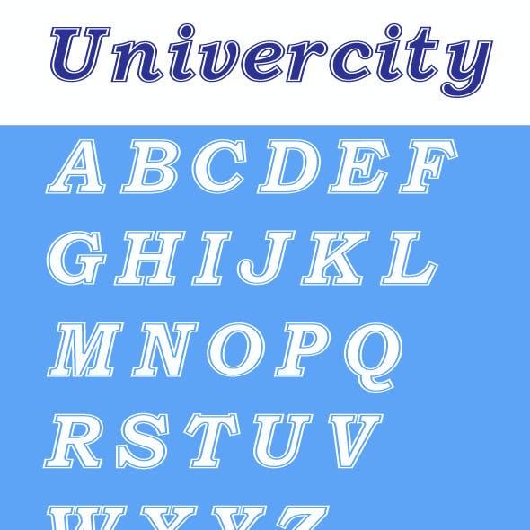 Univercity Font