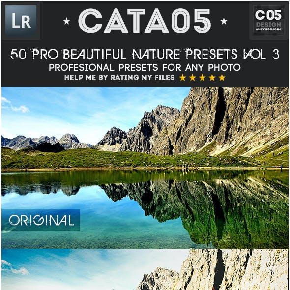 50 Pro Beautiful Nature Presets Vol 3